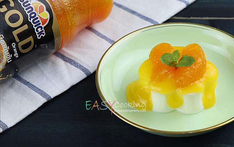 พานาคอตตา-ซอสส้ม